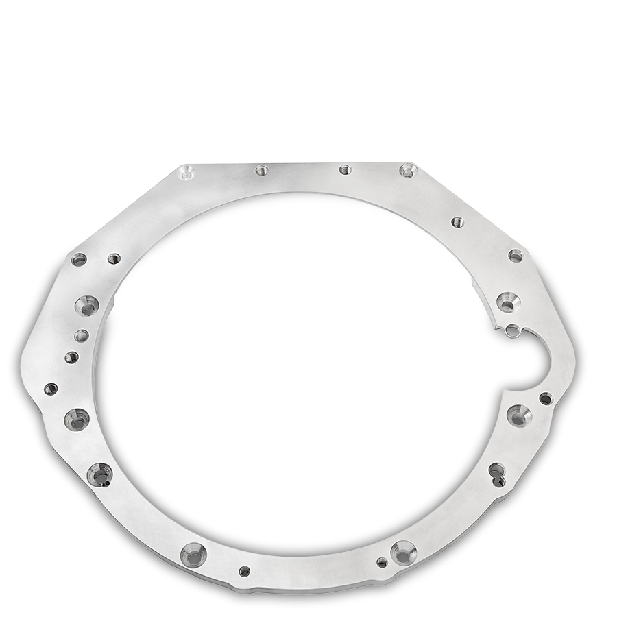 Gearbox adapter plate