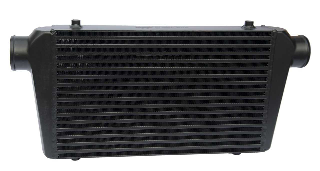 "Hurricane Intercooler Black 2,5"" connections (58cm wide)"
