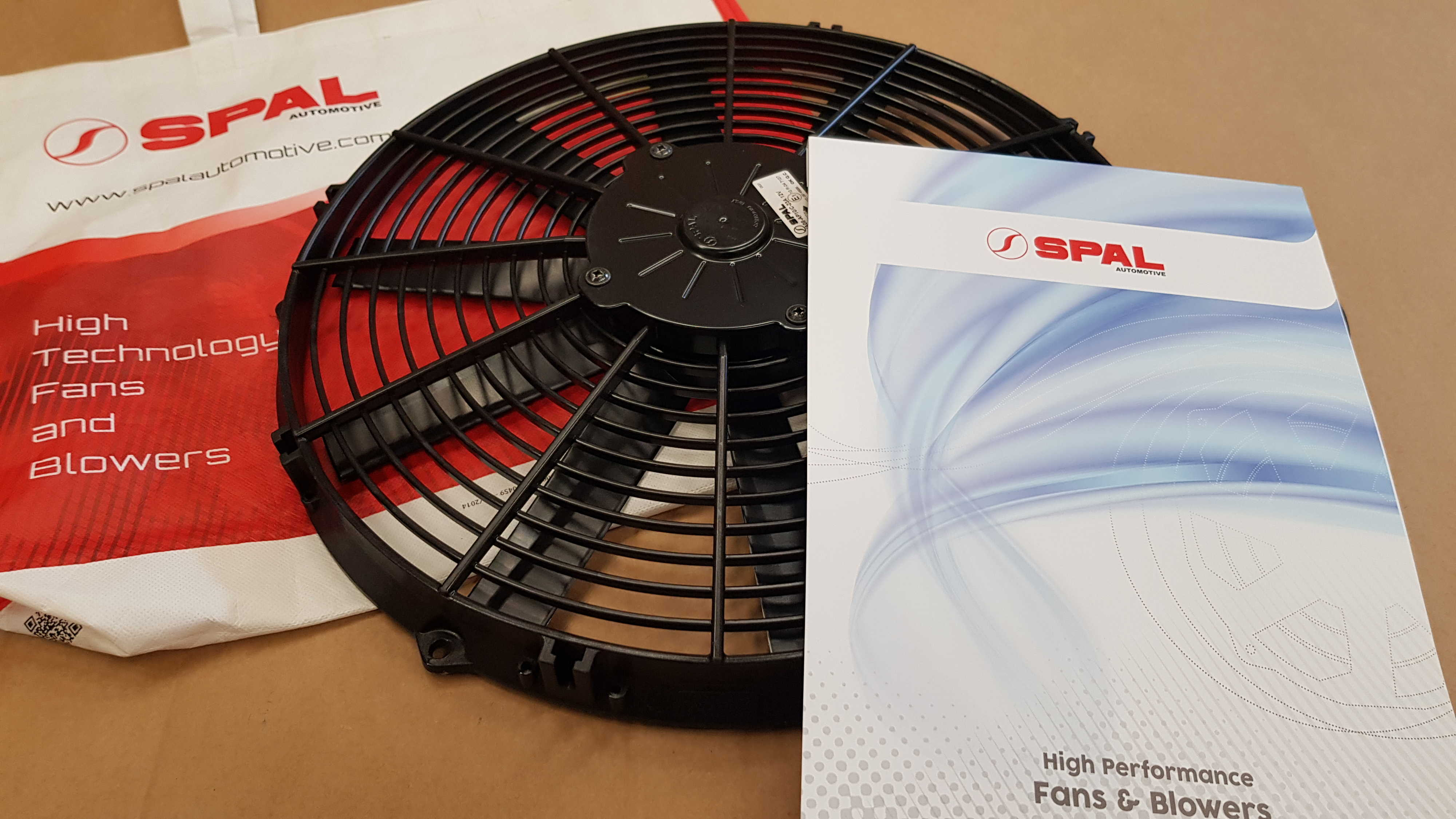 SPAL cooling fan 225mm (blowing)