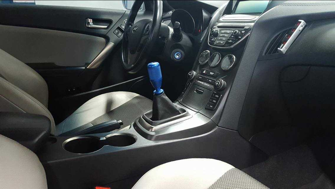 Coolerworx Short shifter Genesis Coupe