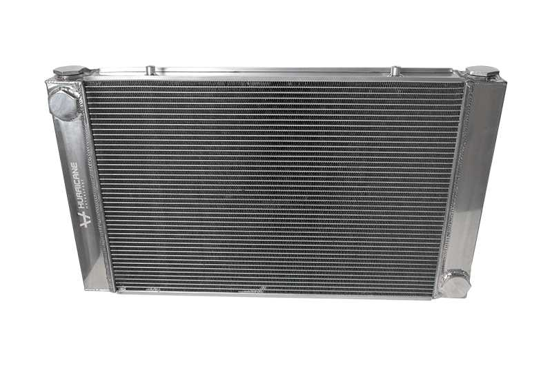 Hurricane Radiator High flow AN20 Universal (Silver)