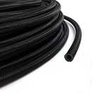 AN6 nylon braided  PTFE hose Carbon (antistatic)
