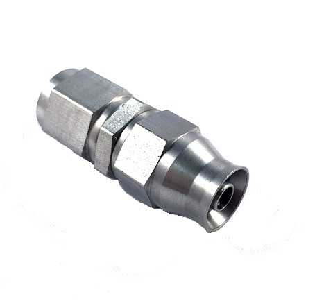 Stainless Steel Brake and Clutch Fitting Adapter AN3-3AN AN-3 to AN3-3AN AN-3 45-degree Elbow Male Thread Flare Bulkhead