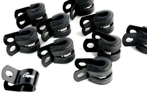SPD Rubber clamp 10pack Black