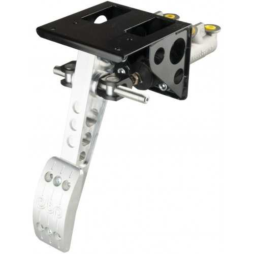 OBP Top mounted pedal box 1 pedal 2x master cylinders