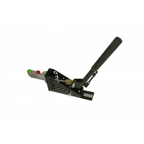 Lockable 45 Degree Hydraulic Handbrake