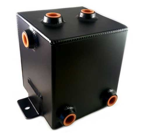 Catch tank 3L universal black