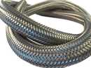 Braided cable sleeve stainless 15mm