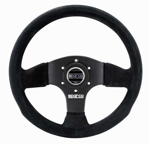 Sparco 300 steering wheel Suede