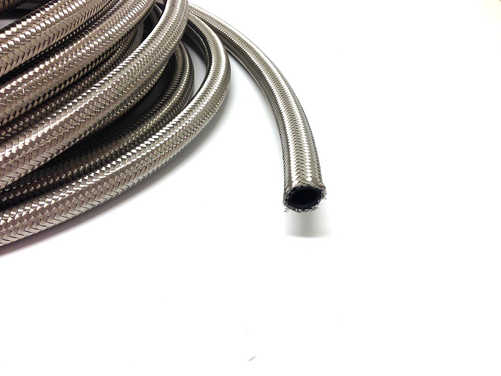 AN12 steel braided hose