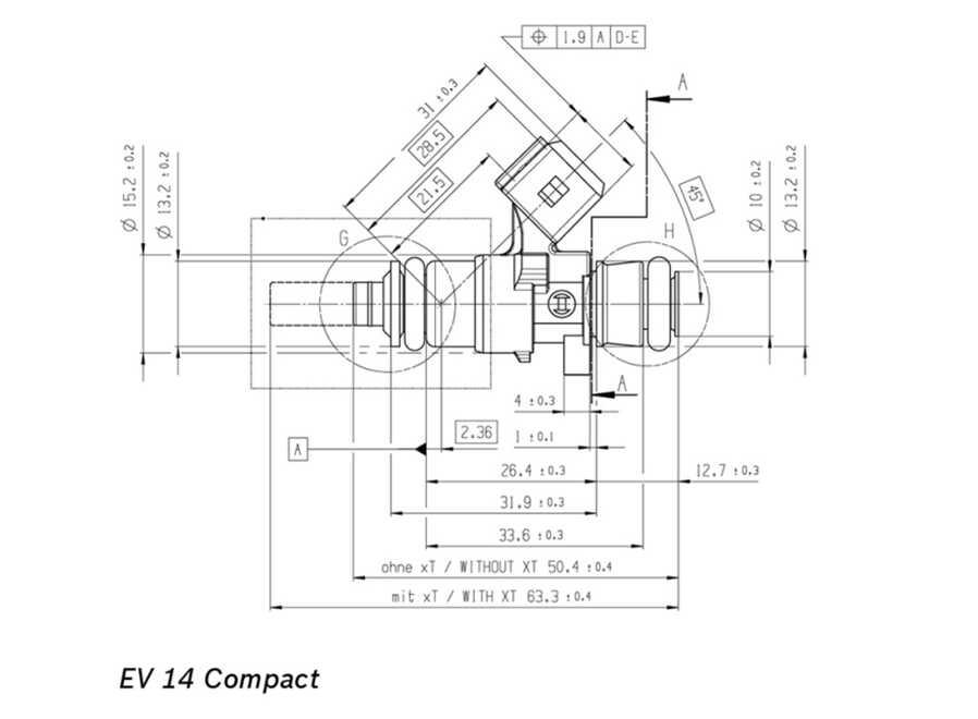 Bosch injector 2200cc