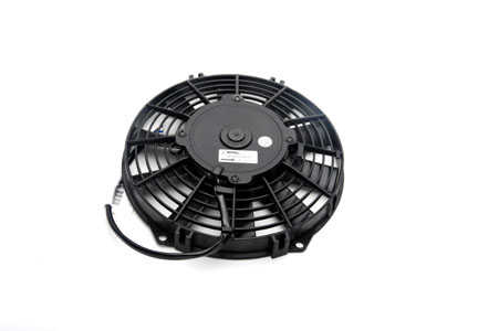 "SPAL cooling fan 225mm / 9"" blowing"