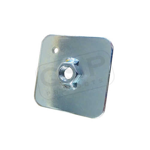 Eyebolt plate Safety harnessn FIA